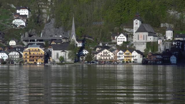 vídeos y material grabado en eventos de stock de hallstatter ver lago de hallstatt, austria - cultura austríaca