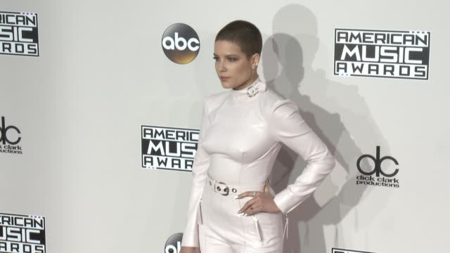 Halsey at 2016 American Music Awards at Microsoft Theater on November 20 2016 in Los Angeles California