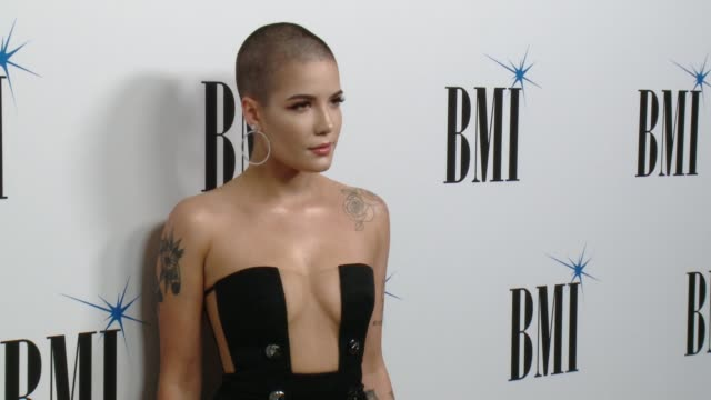 Halsey at 65th Annual BMI Pop Awards in Los Angeles CA