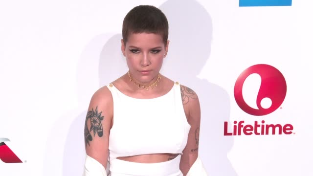 Halsey at Billboard Women In Music 2016 at Pier 36 on December 09 2016 in New York City