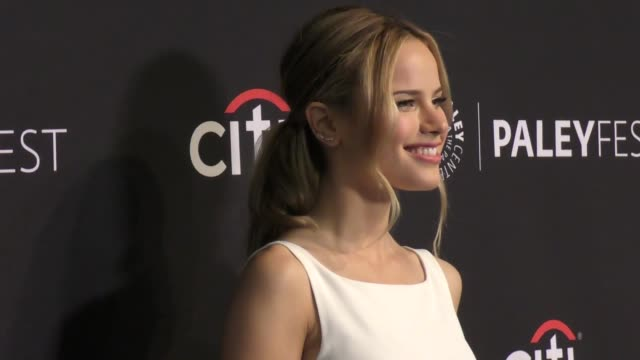 halston sage at the paley center for media's 11th annual paleyfest fall tv preview of 'the orville' on september 13 2017 in beverly hills california - halston stock videos & royalty-free footage