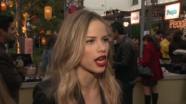 interview halston sage on why she wanted to support the cause why education is important to her why the work city year does is so important how a... - halston stock videos & royalty-free footage
