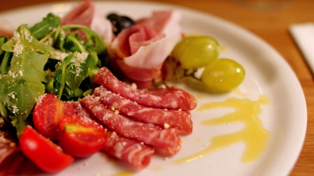 Ham plate as starter