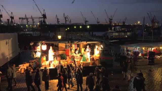 Hamburg Fish Market, Altona, Hamburg, Germany