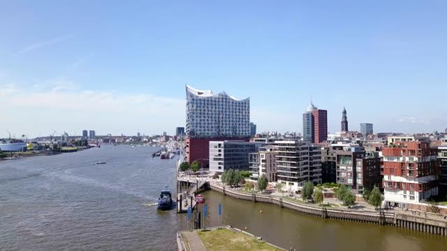 Hamburg Hafencity Aerial View