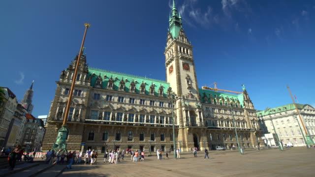 Hamburg Town Hall, Zeitraffer