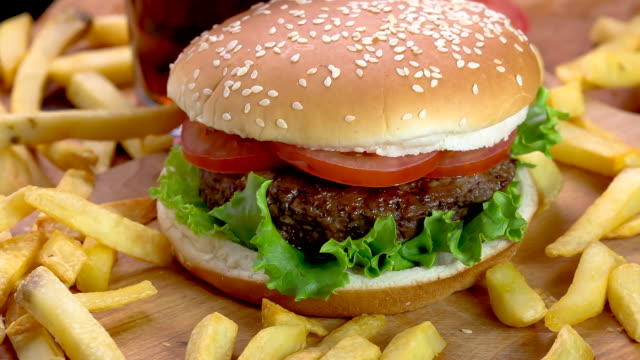 hamburger - burger stock videos and b-roll footage