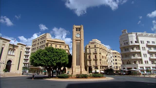 LA WS Hamidiya Clock Tower in Najmah Square at Place De L'Etoile, Beirut, Lebanon