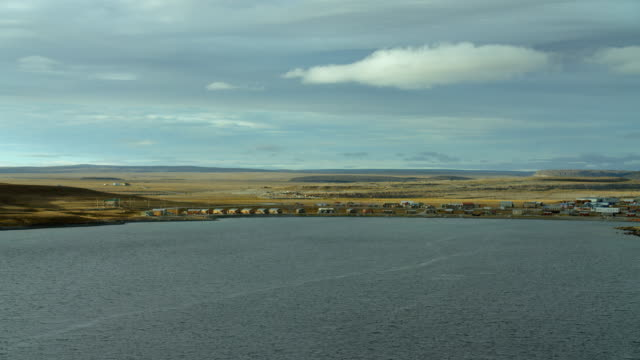 Hamlet Of Ulukhaktok On The Coast Of Victoria Island