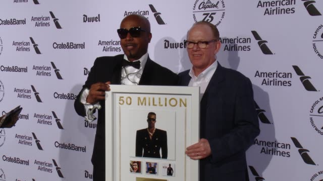 MC Hammer and Steve Barnett at Capitol Records Celebrates 75th Anniversary With Hollywood Gala on November 15 2016 in Hollywood California