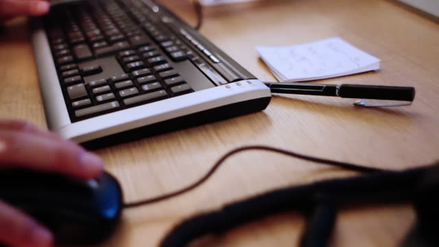 hammer keyboard   de  te  inf - threats stock videos & royalty-free footage