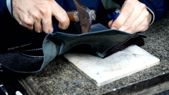 hammer leather processing