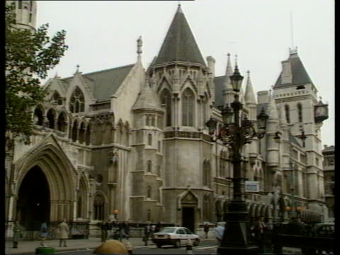 hammersmith finance speculation ruled illegal strand high court - inghilterra video stock e b–roll