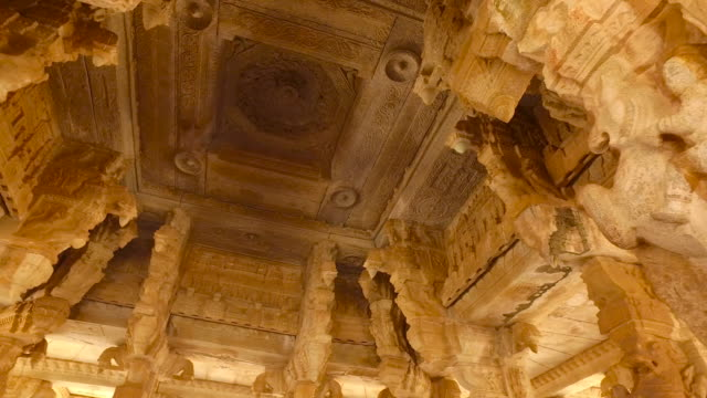 hampi - temple building stock videos & royalty-free footage