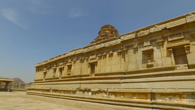 hampi - granite rock stock videos & royalty-free footage