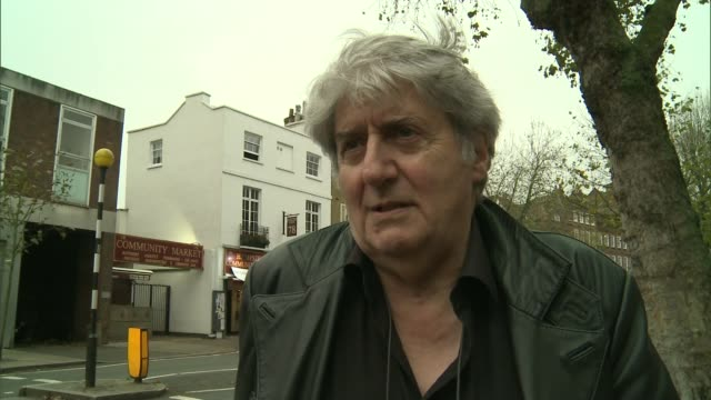 hampstead residents start crowdfunding campaign to buy extra police officers following cuts; hampstead: learmond-criqui and conti chatting general... - tom conti stock videos & royalty-free footage