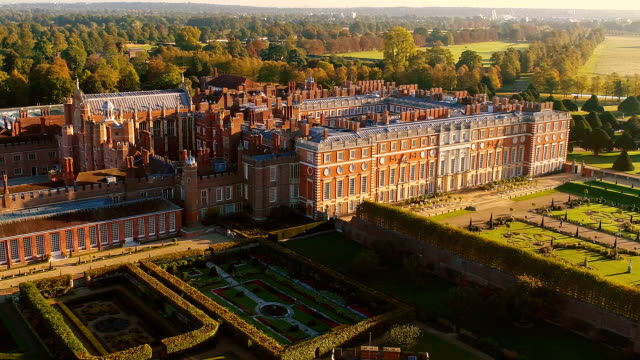 Hampton Court Palace From the Air