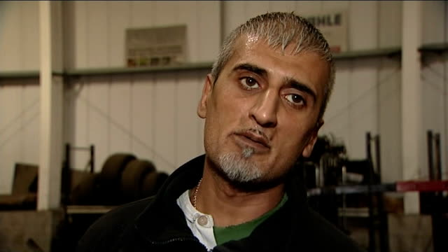 stockvideo's en b-roll-footage met hamzah khan manslaughter: amanda hutton jailed for 15 years; england: west yorkshire: bradford: int aftab khan interview sot - i'm distraught - i... - omgeven