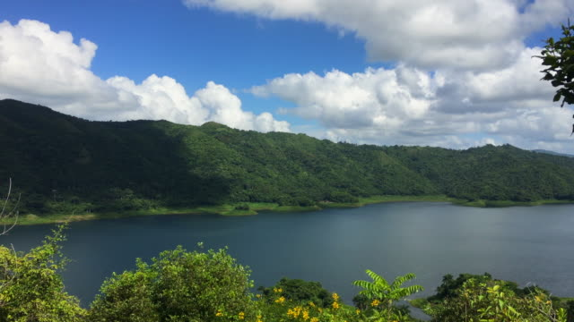 hanabanilla dam and the escambray mountains in cuba - nature reserve stock videos & royalty-free footage