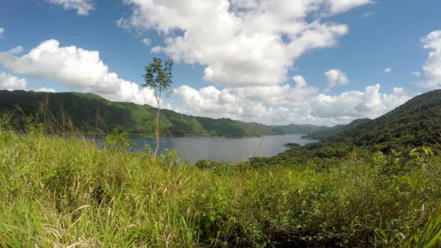 hanabanilla lake, villa clara, cuba - natural condition stock videos & royalty-free footage