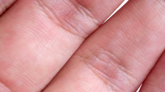 hand and fingers extreme close-up - schizophrenia stock videos & royalty-free footage