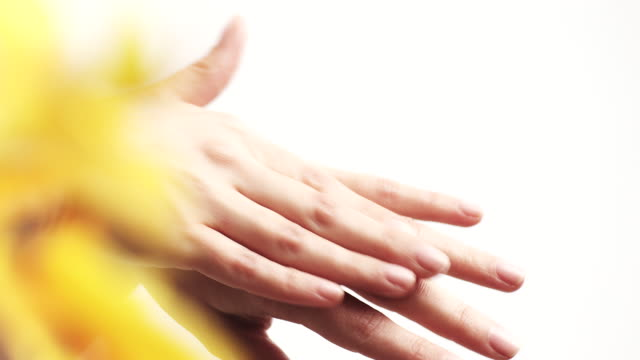 hand care - softness stock videos & royalty-free footage