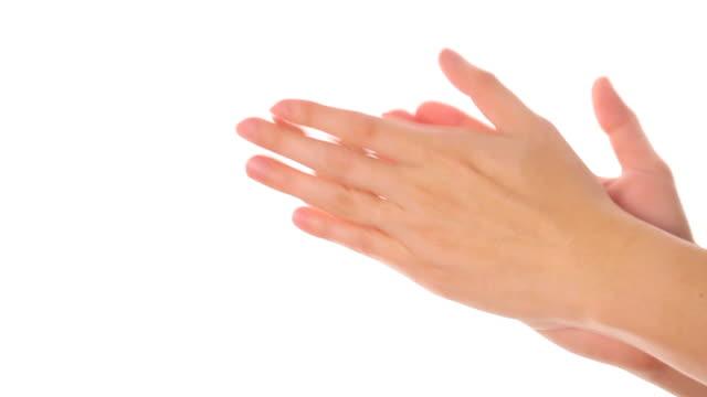vídeos y material grabado en eventos de stock de las palmas de la mano - composición fílmica