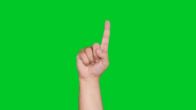 4k hand counting on green screen - number 5 stock videos & royalty-free footage