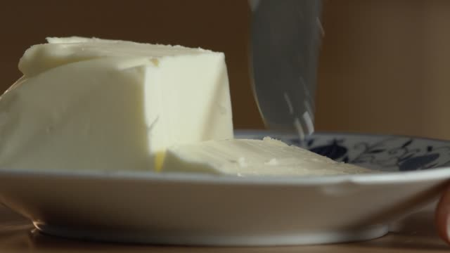 Hand Cutting Butter