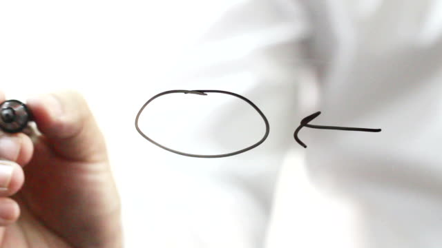 hand drawing concept - satisfaction stock videos and b-roll footage