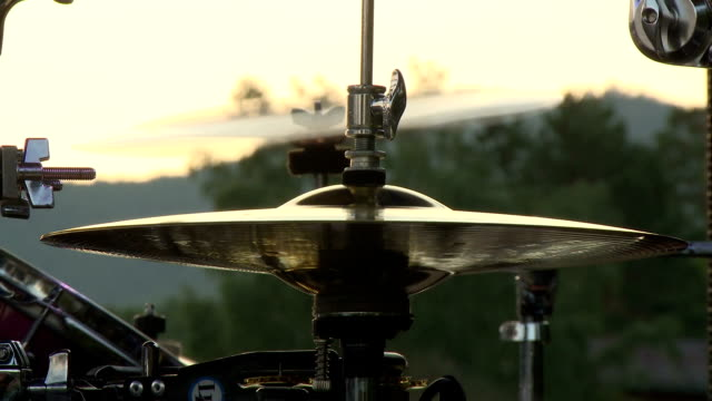 hand drummer - cymbal stock videos and b-roll footage