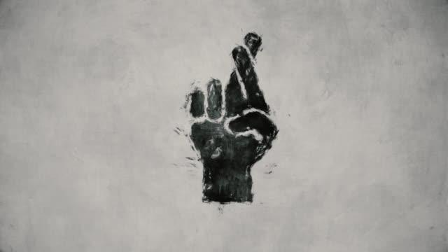stockvideo's en b-roll-footage met handgebaar - menselijke arm