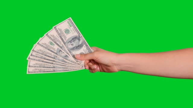 hand giving money - money stock videos & royalty-free footage
