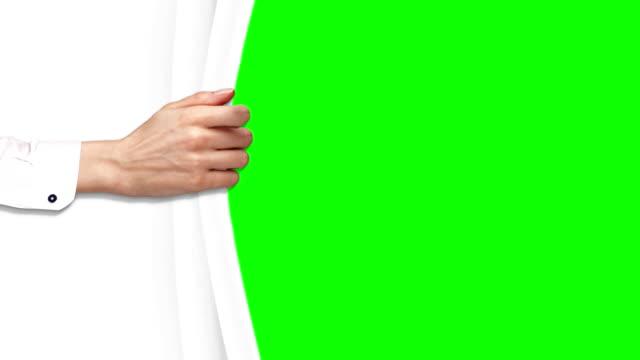 Hand Green Screen