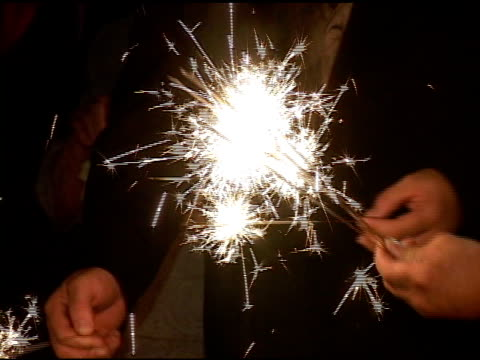 hand held sparklers - {{asset.href}} stock videos & royalty-free footage