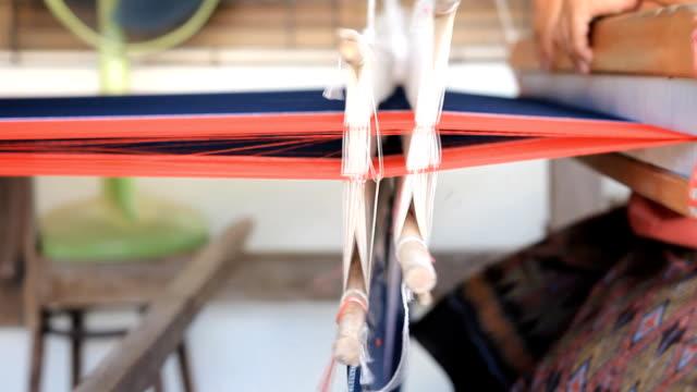 Hand-Webstuhl hergestellt