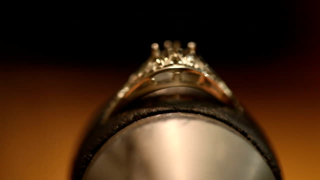 hand made ring. inside jeweller workshop - ornate stock videos & royalty-free footage