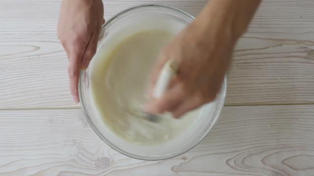 Hand, Mond Kuchen Haut