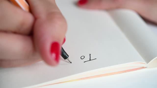 hand of woman writing to do list - to do list stock videos & royalty-free footage