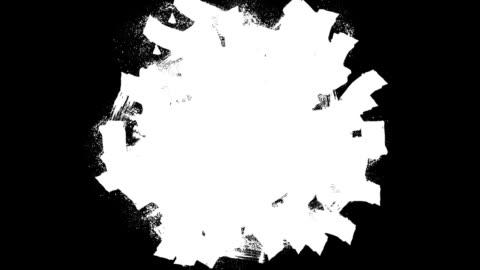 hand painted screen wipe at various speeds - 磨砂 個影片檔及 b 捲影像