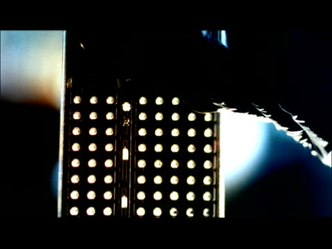 ecu, td, tu, hand pouring liquid from test tube, swedish american hospital, rockford, illinois, usa - letterbox format stock videos & royalty-free footage