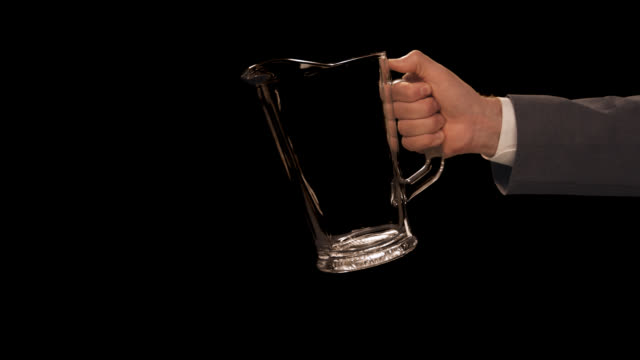 ms hand pouring pitcher - pitcher jug stock videos & royalty-free footage