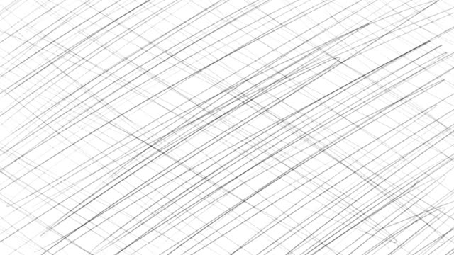 vídeos de stock e filmes b-roll de hand sketched cartoon lines background in stop motion - irregular texturizado