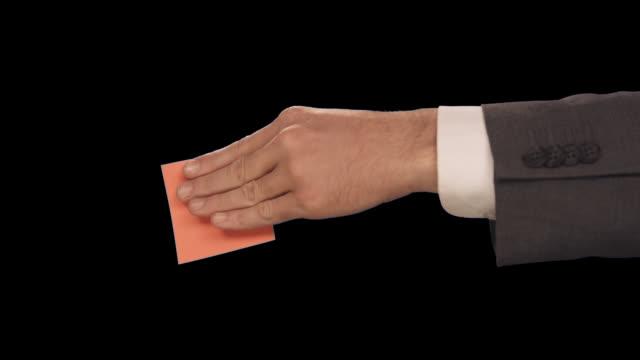 vídeos y material grabado en eventos de stock de ms hand slams note - sólo hombres de mediana edad