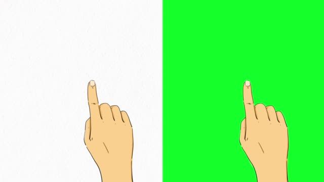 hand touchscreen gestures on green screen stock video - electronic organiser stock videos & royalty-free footage