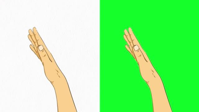 stockvideo's en b-roll-footage met hand touchscreen bewegingen op groen scherm voorraad video - handgebaar