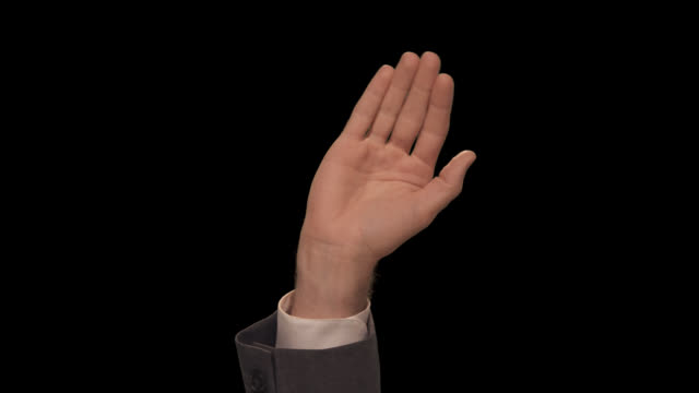 ms hand waves casually - waving stock videos & royalty-free footage
