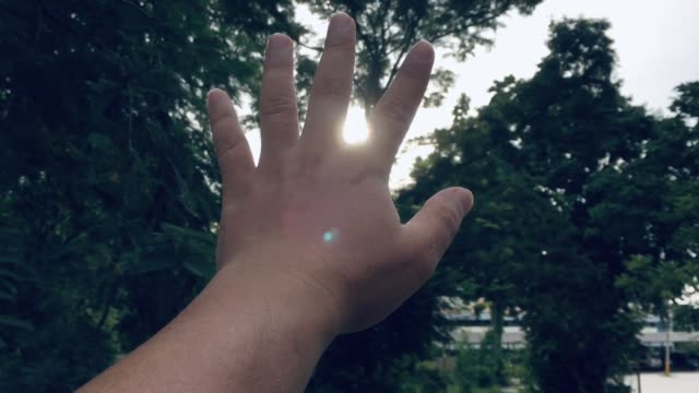 hand with sunlight, worshipper christian - worshipper stock videos & royalty-free footage