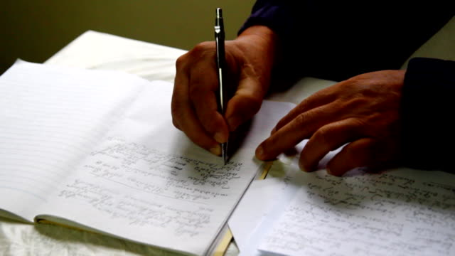 hand write document