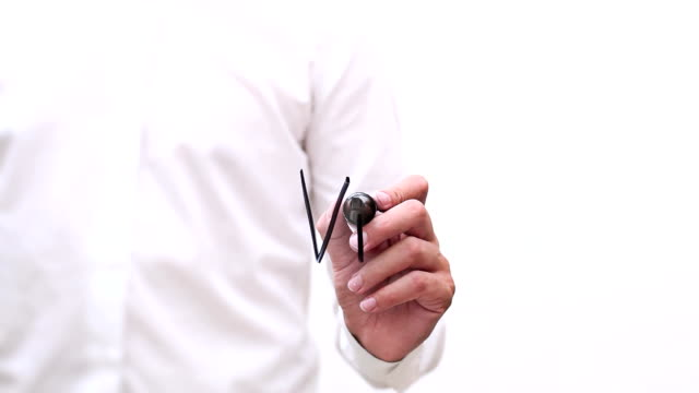 """hand writing """"vision"""" - interactive whiteboard stock videos & royalty-free footage"""